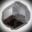 Dark Almandine Garnet Crystal