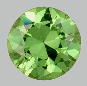 Deep Green Demantoid Garnet