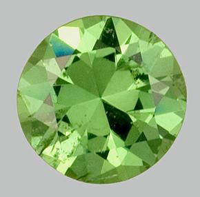 Deep Green Demantoid Garnet