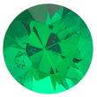 Round Cut Emerald