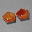 Reddish-Orange Agate