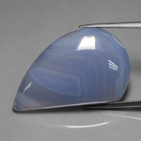 Finely Banded Light Agate
