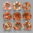 9 Multicolor Pinkish-Orange Andalusite