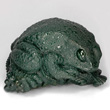 Deep Green Bloodstone Frog
