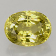 Brownish Yellow-Green Chrysoberyl
