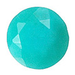 Faceted Blue Chrysocolla