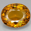Orange-yellow Citrine