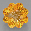 Flower Shaped Citrine