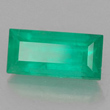 Baguette Facet Emerald