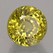 Greenish-yellow Grossular Garnet