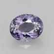 Round Cut Light Purple Iolite
