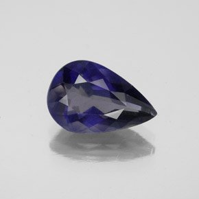 Pear Iolite with Visible Pleochroism
