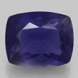 Deep Violet-Blue Cushion Iolite