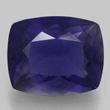 Deep Violet-Blue Cushion Iolite