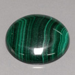 Dark Green Banded Malachite