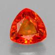 Deep Reddish Orange Sapphire