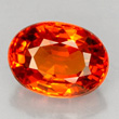 Orange-red Spessartite Garnet