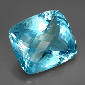 Huge Swiss Blue Topaz