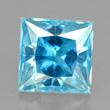 Bright Blue Zircon