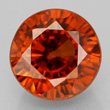 Brownish-Orange Zircon