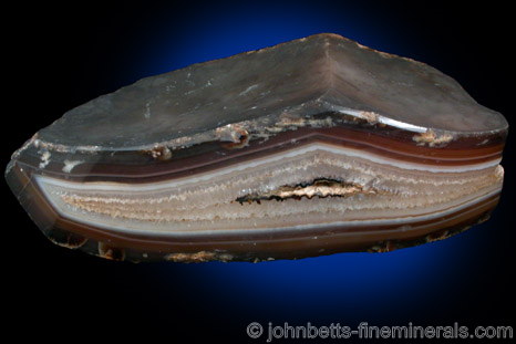 Polished Agate Geode from Rio Grande do Sul, Brazil
