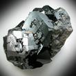 Lustrous Melanite Crystals