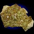 Topazolite Crystal Cluster