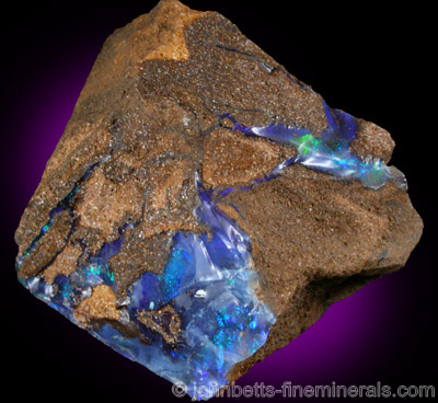 Boulder Opal from Aeromaga Area, Queensland, Australia