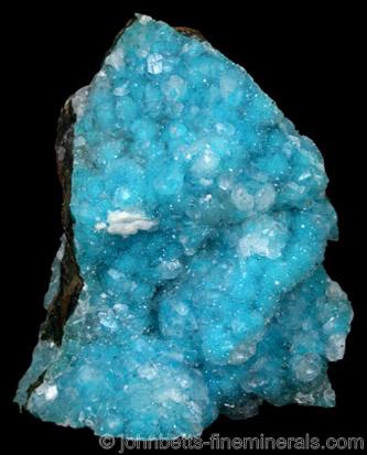 Vivid Blue Chrysocolla from Inspiration Mine, Globe-Miami District, Gila County, Arizona