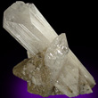 Intersecting Danburite Crystals