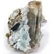 Gem Diaspore Crystal in Matrix