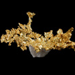 Gold Formation on Quartz