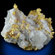 Gold on Quartz Matrix