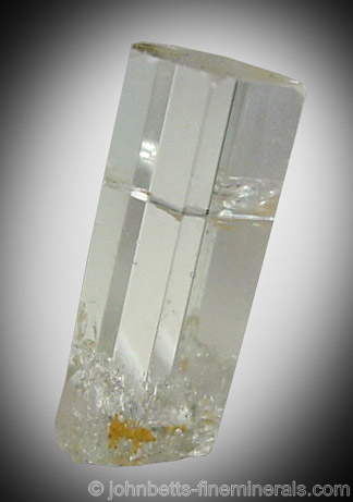 Elongated Goshenite Crystal from Gilgit District, Northern Areas, Pakistan