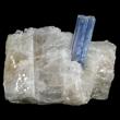 Blue Kyanite Protruding From Matrix