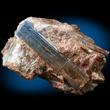 Lustrous Blue Kyanite In Quartz