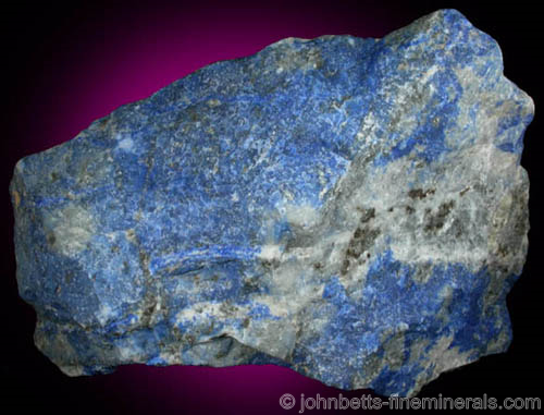 Lapis Lazuli from Chile from Las Flores de Los Andes, near Ovalle, Coquimbo Region, Chile