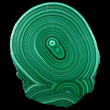 Concentric Malachite Slab