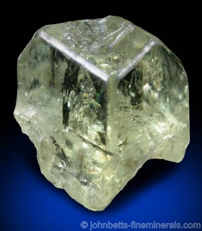 yellow orthoclase from madagascar gemstone image