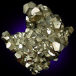 Pyrite Crystal Mass