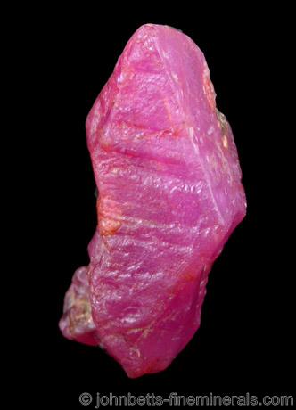 Pinkish-red Ruby from Central Highland Belt, near Ratnapura, Sri Lanka (Ceylon)