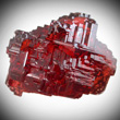 Etched Spessartite Garnet Crystal