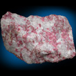Red Thulite in White Quartz