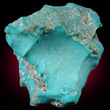Solid Turquoise Chunk