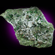 Large Uvarovite Crystals in Matrix
