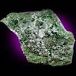 Large Uvarovite Crystals in Matrix