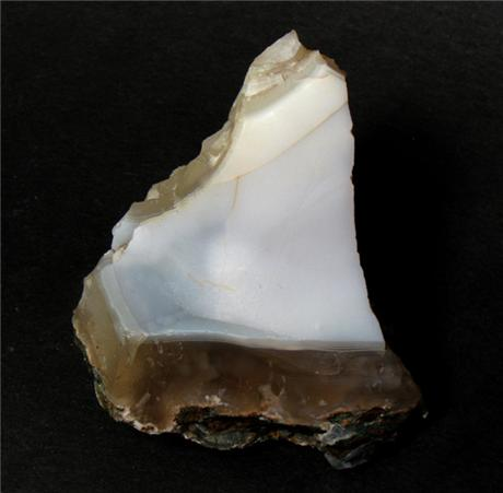 White Chalcedony from Wesley Hills, Rockland County, New York