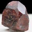 Red Zircon Crystal