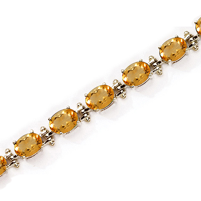 bracelet kruskal citrine hook curl bangle yellow product tom gold