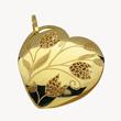 Yellow Gold Heart Pendant<br>